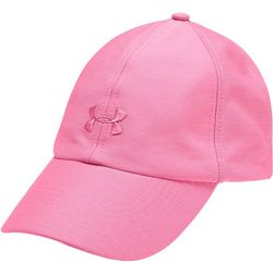 Under Armour Womens Heathered Play Up Baseball Hat