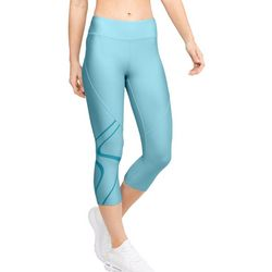 Under Armour Womens HeatGear Graphic Capri Leggings