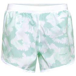 Under Armour Womens Fly-By 2.0 Graphic Ikat Print Shorts