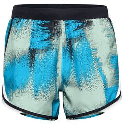 Under Armour Womens Fly-By 2.0 Graphic Print Shorts