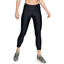 Under Armour Womens HeatGear High Rise Ankle Crop Leggings