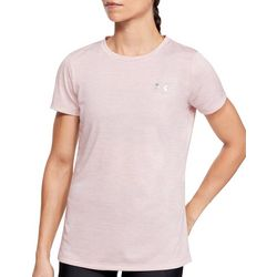 Under Armour Womens Tech Twist Space Dyed Crew Neck T-Shirt