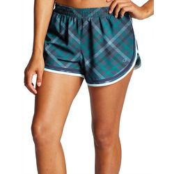 Champion Womens Diagonal Plaid Shorts