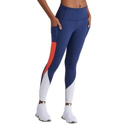 Champion Womens High Rise Colorblock Leggings