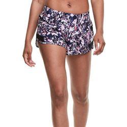 Champion Womens 4 Eco Woven Print Shorts