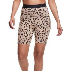 Champion Womens Leopart Biker Shorts