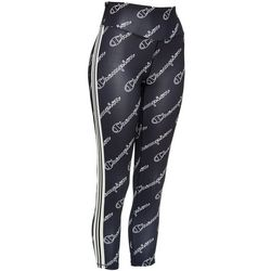 Champion Womens High Rise All Over Logo Tights