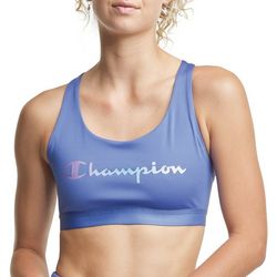 Champion Womens Seam Solid Sports Bra