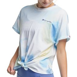 Champion Womens Classic Front Tie Active T-Shirt