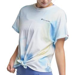 Womens Classic Front Tie Active T-Shirt