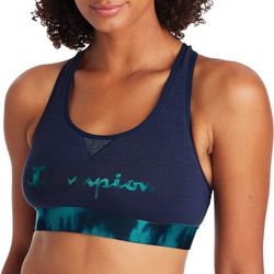 Champion Womens The Authentic Logo Graphic Sports Bra