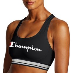 Champion Womens Absolute Workout Script Logo Sports Bra