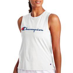 Champion Womens Split Hemline Muscle Tank Top