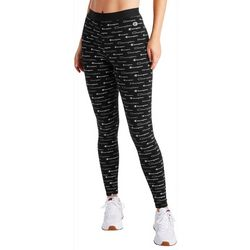 Champion Womens All Over Logo Leggings