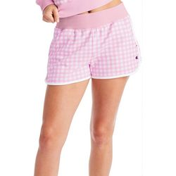 Champion Womens Gingham Plaid Shorts