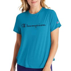 Champion Womens Boyfriend Logo T-Shirt