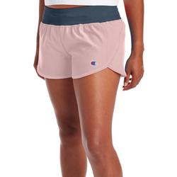 Womens Activewear Solid Sport Shorts