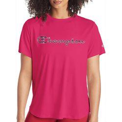 Champion Womens Boyfriend Graphic T-Shirt
