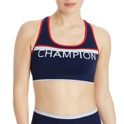 Champion Womens Striped Infinity Sports Bra