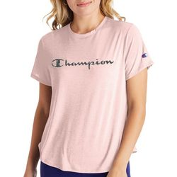 Champion Womens Sport Lightweight Logo Screen Print T-Shirt
