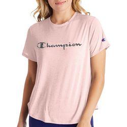 Champion Womens Sport Lightweight Logo Screen Print T-Shirt