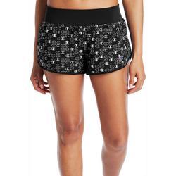 Womens Sport All Over Logo Print Shorts