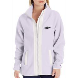 Womens Zip Front Sherpa Jacket