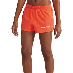 Champion Womens Logo Solid Pull On Shorts