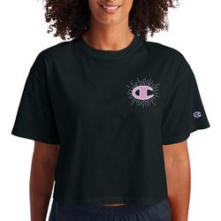 Champion Womens Classic Champion Crop T-Shirt