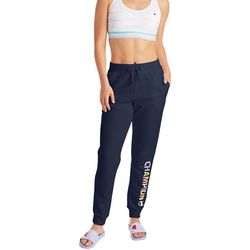 Champion Womens Jersey Drawstring Logo Jogger Pant