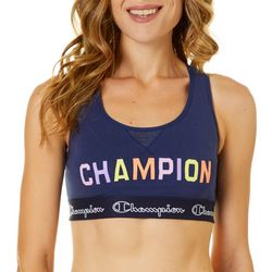 Champion Womens The Authentic Logo Sports Bra