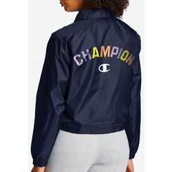 Champion Womens Solid Coaches Jacket