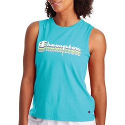 Champion Womens Sport Logo Muscle Tank Top
