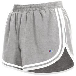 Champion Womens Physical Education Heathered Shorts