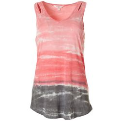 FUDA Womens Tie-Dye Tank Top