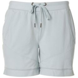 FUDA Womens Solid Drawstring Lounge Shorts