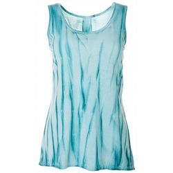 Brisas Womens Tie Dye Sleeveless Top