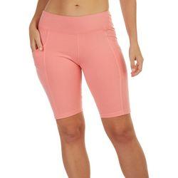 Fuda Womens Solid Bike Shorts