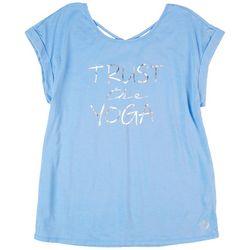 Brisas Womens Trust the Yoga Top