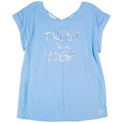 Womens Trust the Yoga Top