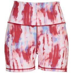 Brisas Womens Painted Biker Shorts
