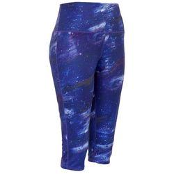 Brisas Womens Milky Way Capri Leggings