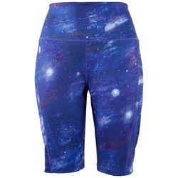 Brisas Womens Milky Way Biker Shorts