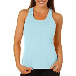 Womens Solid Elite Racerback Tank Top