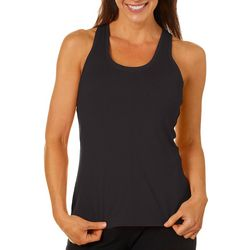 Brisas Womens Solid Yoga Tank Top