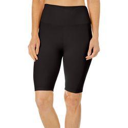Brisas Womens Solid Bike Shorts