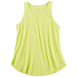 Brisas Womens Solid Front Design Tank Top
