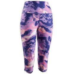 Brisas Womens Printed Capri Leggings