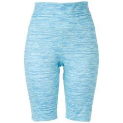 Brisas Womens Striped Biker Shorts
