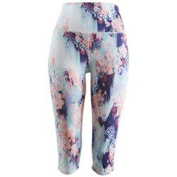Brisas Womens Print Capri Leggings